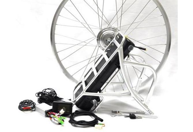 ombouw e-fiets - veloman